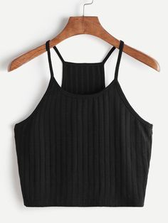 Straightforward Women Fashion Summer Sexy Striped Tank Top Sleeveless T-shirt Cotton Casual Comfortable Tops Croped Feminino Curto F4 Uhren & Schmuck
