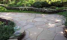 Irregular Flagstone Terrace