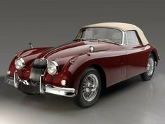 1961 Jaguar XK-150 Drop Head Coupe