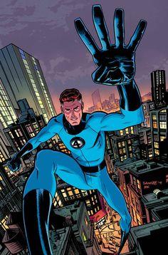 Fantastic Four #643 cover, out Feb 2015 by Chris Samnee & Matt Wilson