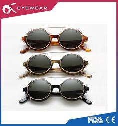 96daa7b120  Timeless  Clip-on Sunglasses by Han Kjobenhavn from Denmark.