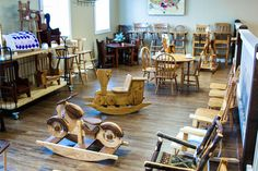 Amish Furniture Store, locally made and customizeable to fit your style. Four floors displaying Shipshewana Amish furniture for every room. Amish Furniture, Furniture Making, Types Of Wood, Flooring, Traditional, Store, Room, Painting, Wood Types