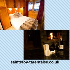 Sainte Foy, French Alps, Snow Skiing, Cottage, Gallery, Bed, Places, Nature, Check