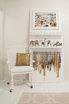 25 fabulosas ideas para ordenar tus joyas