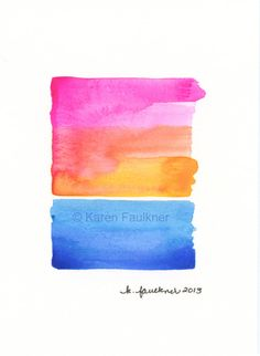 Over The Rainbow by karenfaulknerart, $20.00