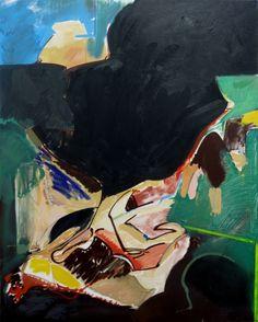 """'A Groom For Armine' oil on canvas 48"""" X 60"""" X 1.5"""""""