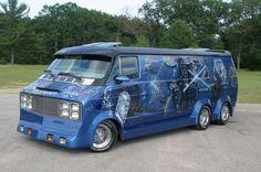 Dodge van custom