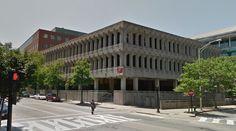 Fogarty building - 1967 by Castellucci, Galli & Planka - #architecture #googlestreetview #googlemaps #googlestreet #usa #providence #brutalism #modernism