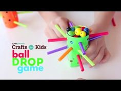 DIY Ball Drop Game | Crafts for Kids . PBS Parents | PBS