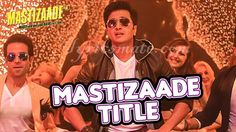 #Mastizaade #Lyrics from title song of the movies sung by #bennyDayal with #Meetbros #Anjjan #RiteishDeshmukh , #SunnyLeone, #TussharKapoor #VirDas http://www.lyricsmate.com/mastizaade-lyrics-title-song.html