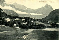 Møre og Romsdal fylke Rauma kommune Aak ved Åndalsnes tidlig 1900-tall