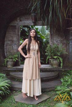 Women's Dresses, Linen Dresses, Goddess Dress, Local Women, Long Wedding Dresses, Sustainable Clothing, Boho Dress, Dress Collection, Dress Long