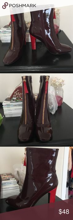 Public Desire Ankle Boots NEVER WORN - took tags off and used box to ship another Poshmark purchase but have never worn these beauties 😍 Brand: Public Desire, Size 8, Purchased on ASOS public desire Shoes Ankle Boots & Booties