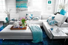 We're in love with the Madrid sectional!