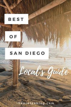 Things to do in San Diego - 4 trip itineraries, locals guide. Let's explore: hiking, museums, beaches, parks, & shopping. #visitsandiego  #sandiegoliving #travelcalifornia