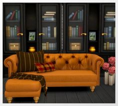 Sims 4 CC's - The Best: Life in a Forest Sofa Recolors by Oldbox