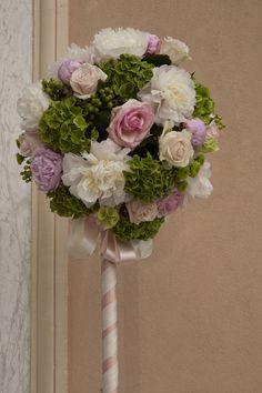 Addobbo floreale per la chiesa #matrimonio