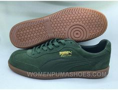 PUMA Super Liga OG Retro Suede Green Best IRWfB. Puma Sports ShoesCheap ... 7850a1689