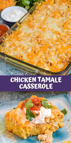 Mexican Dishes With Chicken, Casseroles With Chicken, Mexican Food Recipes, Best Chicken Casserole, Chicken Recipes, Dinner Recipes, Main Dish Casserole Recipes, Casserole Dishes, Tamale Casserole