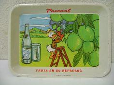 Antigua Charola De Refresco Pascual Limon - $ 100.00 en Mercado Libre