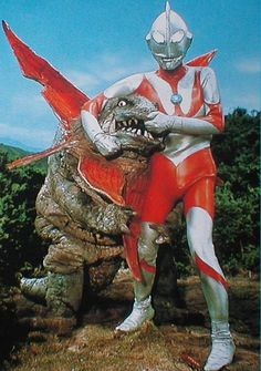 Ultraman. Sure seemed so much cooler when I was a kid. Now it just looks like a bad Power Rangers episode.