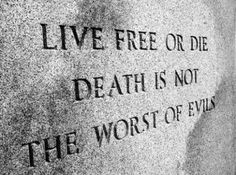 """New Hampshire designated granite as the official state rock in We're known as """"The Granite State"""". """"Live Free or Die Death is not the Worst of Evils"""". State Mottos, Granite State, Live Free Or Die, Epic Of Gilgamesh, Fight The Power, All Things New, Medical Marijuana, Cannabis, New Hampshire"""