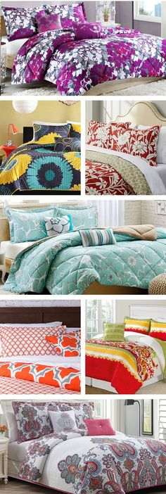 Change up your bedding set with these budget-friendly picks! Bright colors elicit happiness and comfort, so why not give your bed a makeover with vibrant linens? Download the free Wayfair app to access exclusive deals everyday up to 70% off. Free shipping on all orders over $49.