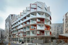Комплекс социального жилья во Франции,  Atelier Du Pont