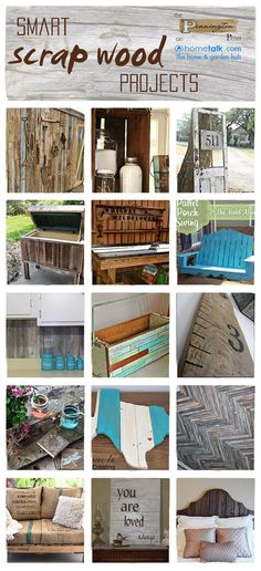 The best DIY projects & DIY ideas and tutorials: sewing, paper craft, DIY. Diy Crafts Ideas Lots of great project ideas using old wood! Reclaimed Wood Projects, Scrap Wood Projects, Diy Projects To Try, Pallet Projects, Furniture Projects, Wood Furniture, Craft Projects, Project Ideas, Pallet Ideas