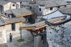 Kenneth Frampton On The Work of Wang Shu and Lu Wenyu,Amateur Architecture Studio, Regeneration of the Wencun village, 2016. Image © Iwan Baan. Image Courtesy of Louisiana