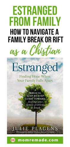 Are you dealing with a broken relationship or even an estrangement with a family member? Check out my story and find hope for your own situation. Don't let a difficult family problem destroy your relationships. Christian Families, Christian Marriage, Christian Parenting, Christian Women, Christian Faith, Christian Living, Difficult Children, Dealing With Difficult People, Raising Godly Children