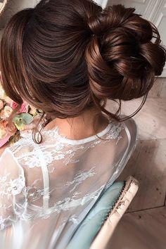 Wedding Hairstyles And#8211; Romantic Bridal Updos ❤ See more: http://www.weddingforward.com/romantic-bridal-updos-wedding-hairstyles/ #weddingforward #bride #bridal #wedding