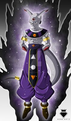 God of destruction :Akrillus by KingKenoArtz | dragon ball ...