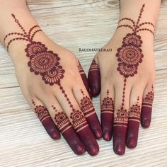 Henna Flower Designs, Pretty Henna Designs, Finger Henna Designs, Indian Henna Designs, Henna Art Designs, Mehndi Designs 2018, Mehndi Designs For Girls, Mehndi Designs For Beginners, Modern Mehndi Designs