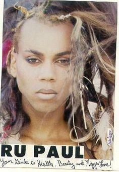 RuPaul in the 80s - 1