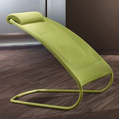 Just saw this in our new office space. No horizontal surface, but as soon as you sit down on it, variously-elastic parts of the fabric form into a really comfortable chair. Could be remade using a structured netting of bungee cable.