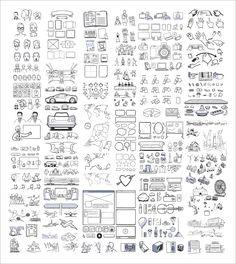 無料でダウンロードできる430種類以上のイラスト集「430+ FREE storyboard illustrations」 - GIGAZINE