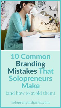 Wondering how to build a brand online? Click through to make sure that you avoid these 10 common branding mistakes. | Grow Your Small Business Online | Small Business Branding Entrepreneurship Branding Your Business, Small Business Marketing, Business Tips, Online Business, Entrepreneur Motivation, Online Entrepreneur, Small Business Organization, Pinterest For Business, Pinterest Marketing