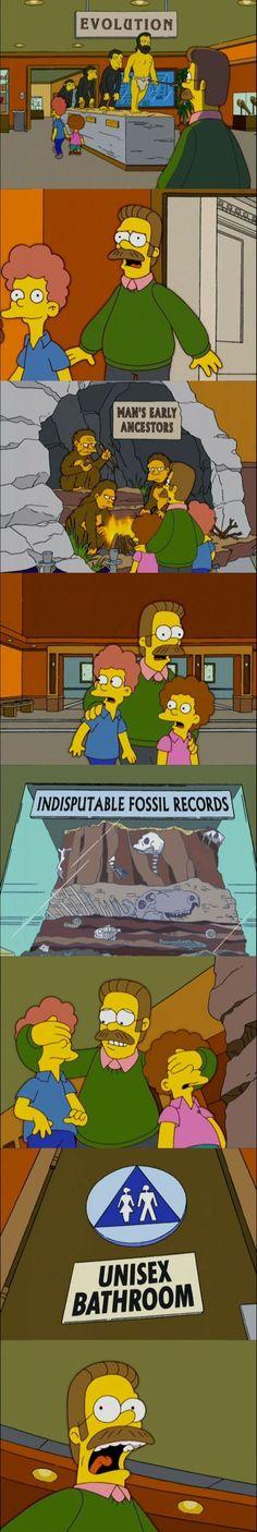 Evolution, fossil, unisex