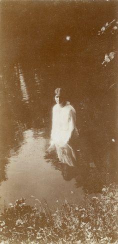 Grand Duchess Maria Nikolaevna Romanova of Russia at Tsarskoe Selo in 1917.A♥W
