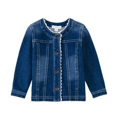 50% off everything at Happyology | Denim Jacket with Embroidery