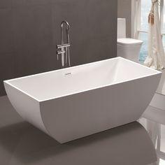 Best Bathtubs, Soaking Bathtubs, Whirlpool Bathtub, Freestanding Bathtub, Thing 1, Relaxing Bath, Bathroom Renovations, Bathroom Ideas, Bath Ideas