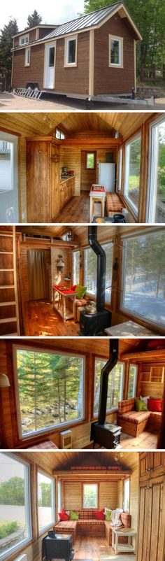 A DIY tiny house from Quebec, Canada!