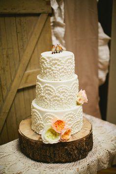 Handmade, Autumn, LDS Wedding - Cake, Rustic, Dessert