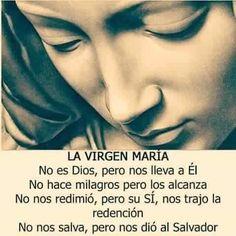 #REFLEXIONES La Virgen María