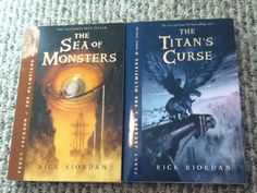 Percy Jackson books 2&3! just got them today! from Recycled Reader in Elizabeth City!