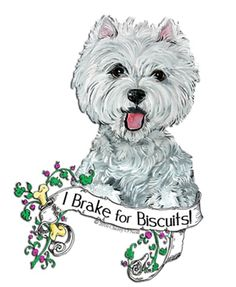 Westie Dog Biscuit