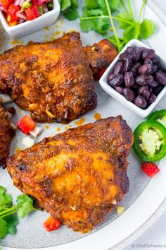 Pollo Asado - Mexican Orange Marinade Chicken