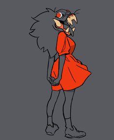 by Dana Terrace Fantasy Character Design, Character Design Inspiration, Character Concept, Character Art, Concept Art, Character Illustration, Illustration Art, Monster Design, Character Design References
