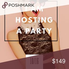 🥂PARTY TIME🥂 I am so thrilled and honored to be hosting my first posh party on 10/16 at 7pm PST. I am looking to share from quality and compliant closets. Also I want to choose a host pick from up and coming new poshers closet. Tag your self and your PFF's to be considered and please, help me spread the word. Thank you so much💕💕. Anthropologie Dresses Maxi
